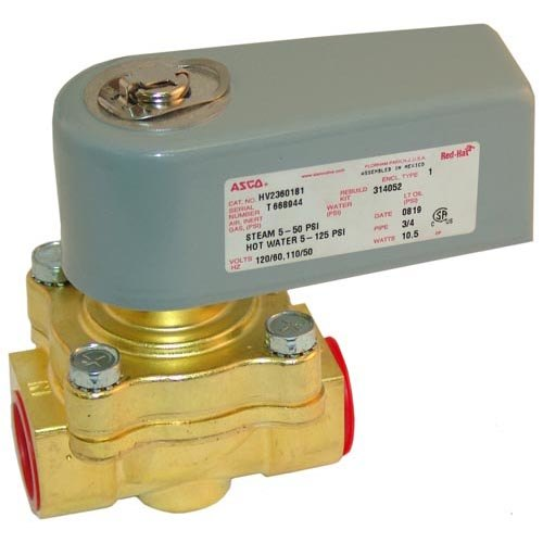 """All Points 58-1147 Water Solenoid Valve; 3/4""""; 120V Main Image 1"""