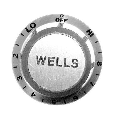 """Wells 50577 Equivalent 2 3/8"""" Warmer Dial (Off, Lo, 2-8, Hi)"""