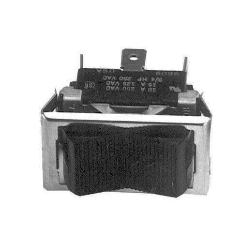 All Points 42-1318 On/Off/On Rocker Switch - 15A/125V, 10A/250V Main Image 1
