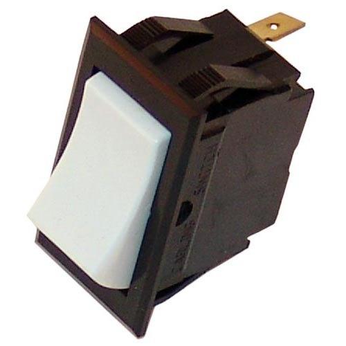 Southbend 1170346 Equivalent Momentary On/Off Lighted Rocker Switch - 10A/250V, 15A/125V
