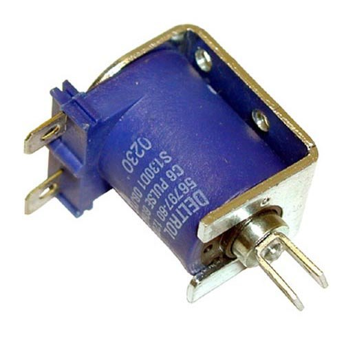 Wells 60024 Equivalent Solenoid with Blue Coil and Plunger; 120V