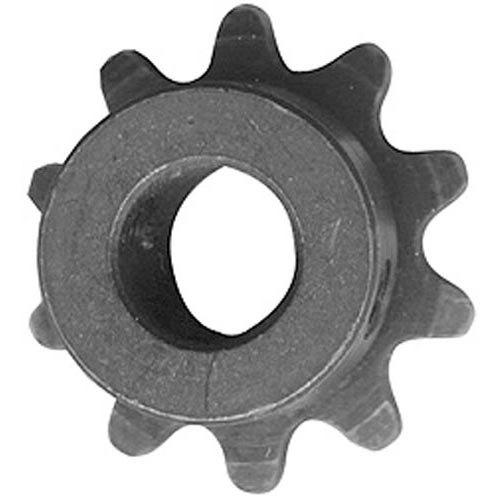 "All Points 26-4006 Gear Motor Sprocket - 10 Teeth, 1/2"" Bore"