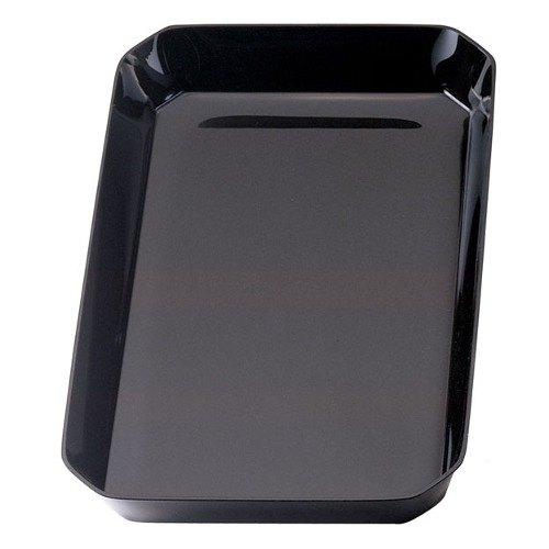 Cambro SFG1015110 Black ShowFest Octagonal Serving Bowl 3.5 Qt. - 6/Case Main Image 1