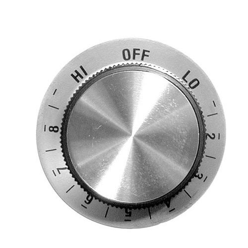 "All Points 22-1139 1 7/8"" Oven / Toaster Infinite Dial (Off, Lo, 2-8, Hi)"