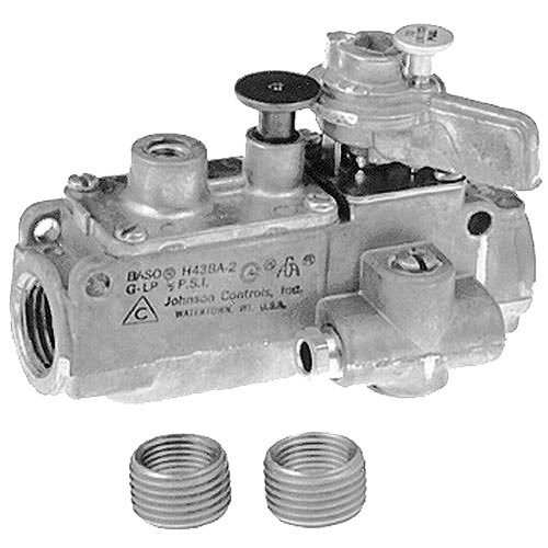 "All Points 54-1023 Pilot Safety Valve; Natural Gas / Liquid Propane; 1/2"" Gas In / Out; 1/4"" Pilot Out"
