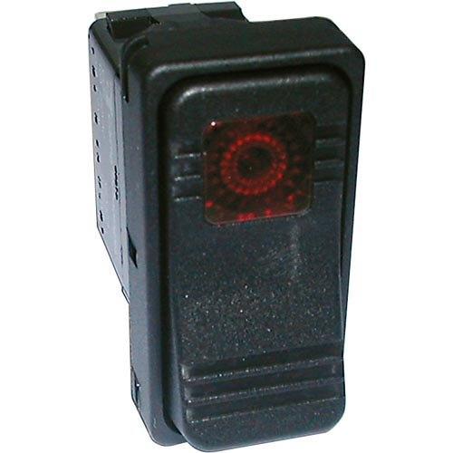 Middleby Marshall 50-1355 Equivalent On/Off Lighted Rocker Switch - 20A/125V, 10A/250V