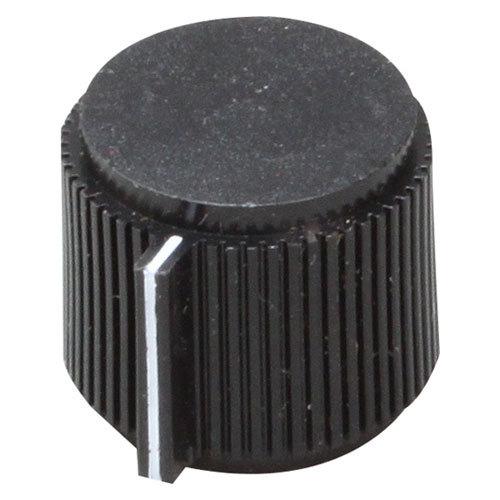 "Delfield 2194761 Equivalent 29/32"" Black Refrigerator / Freezer Temperature Control Knob"