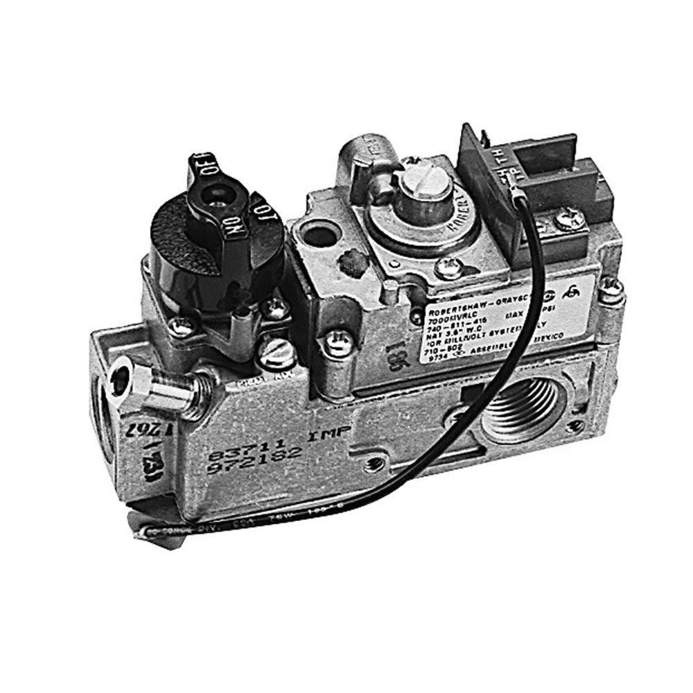 Pilot Control Valve : All points low profile gas valve natural