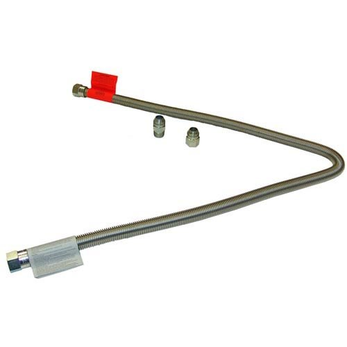 """All Points 32-1751 Stainless Steel Stationary Gas Hose - 60"""" x 3/4"""""""