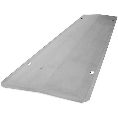 """All Points 26-3884 Stainless Steel Bottom Burner Shield for Air Broiler - 24"""" x 5 1/4"""""""