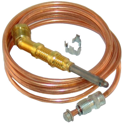 "Vulcan 906955-48 Equivalent 1900 Series Heavy Duty Coaxial Thermocouple - 48"" Main Image 1"