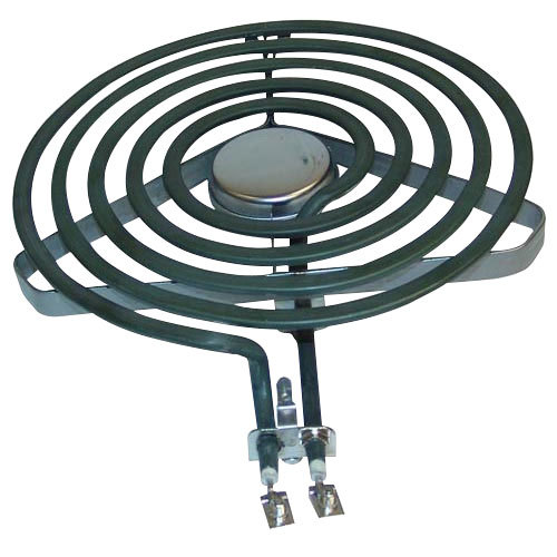 """All Points 34-1638 Coil Surface Heater; 208V, 2100W, 8"""" Diameter"""