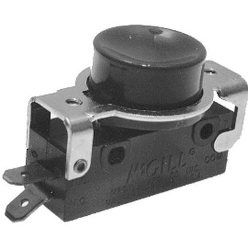 All Points 42-1673 Momentary On/Off Red Push Button Switch