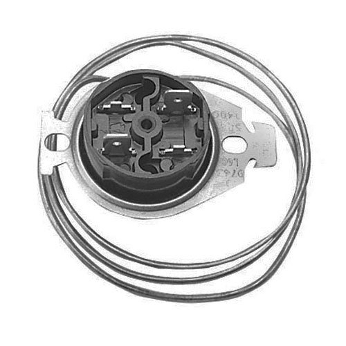 """All Points 48-1058 Hi-Limit Thermostat; Type 10H11; Temperature 284 Degrees Fahrenheit; 26"""" Capillary"""