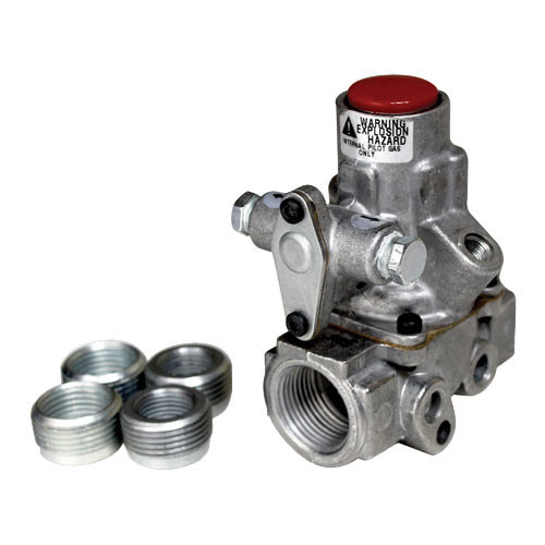 """All Points 54-1088 Pilot Gas Safety Valve; Natural Gas / Liquid Propane; 3/4"""" Gas In / Out; 1/8"""" Pilot Out"""