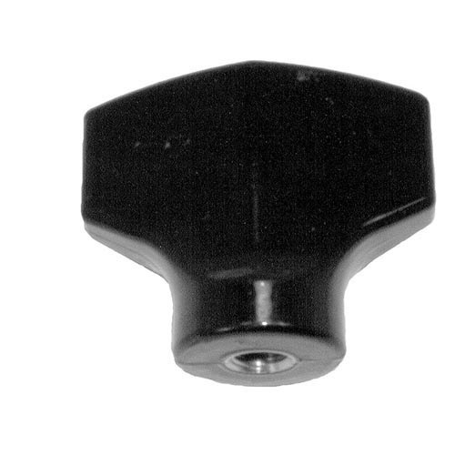 "All Points 22-1016 2 1/2"" Slicer Chute Support Knob Main Image 1"