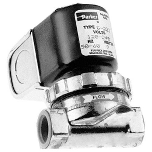 "All Points 58-1025 Water / Steam Solenoid Valve; 1/2"" FPT; 120/240V"