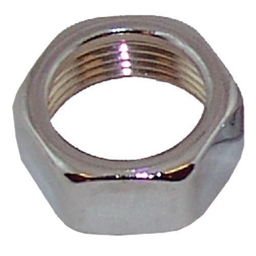 """Tomlinson 17 Equivalent 1/2"""" Chrome Plated Brass Union Nut for Gauge Glass"""