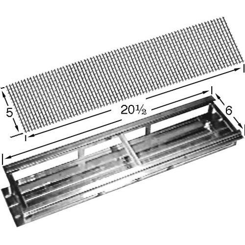 "Garland / US Range G6771-02-9 Equivalent Ceramic Radiant Support Frame; 6"" x 20 1/2"" Main Image 1"
