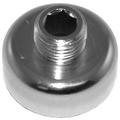 "Tomlinson 1902571 Equivalent Base for Glass Gauge Shield - 1/8"" MPT"