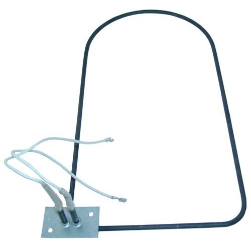 "Chromalox 876171007 Equivalent Steam Table Dome Element - 118V; 1000W; 16 1/2"" x 8 1/2"""