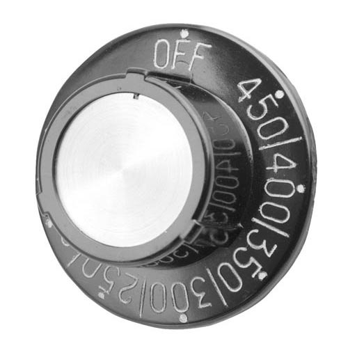"""All Points 22-1169 2 1/2"""" Griddle Thermostat Dial (Off, 150-450)"""