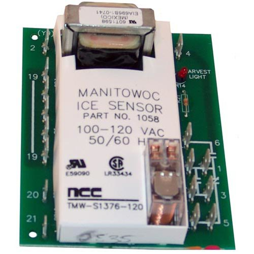 76-2045-3 Equivalent Unitized Ice Sensor Board for Ice Machines - 115V