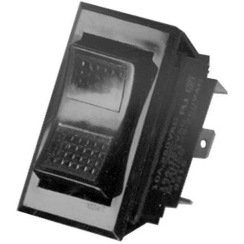 Garland / US Range 1729100 Equivalent On/Off/On Lighted Rocker Switch - 15A, 125/277V