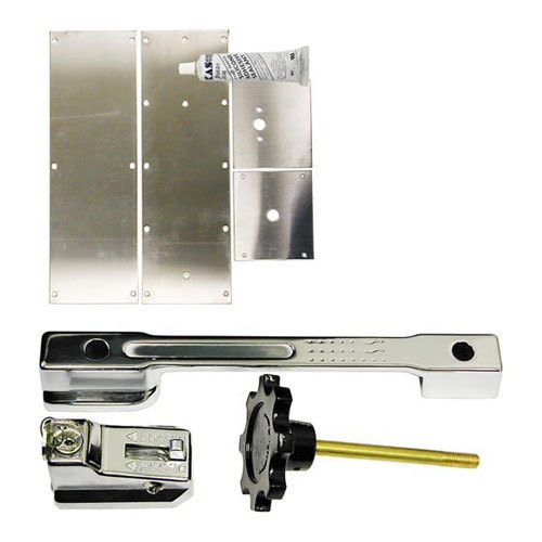 All Points 22-1588 Silver Walk-In Cooler Handle Retrofit Kit