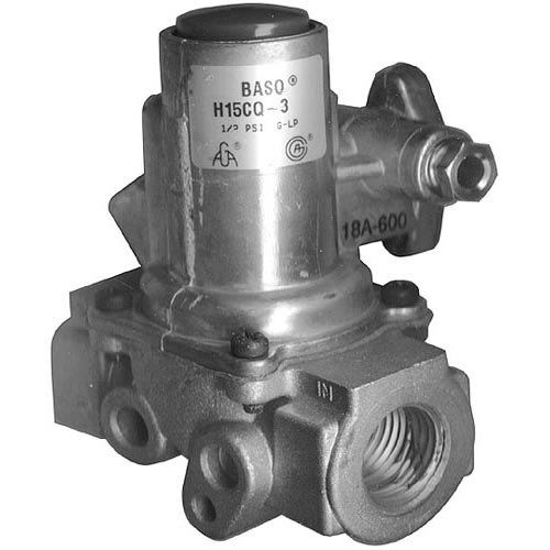 """All Points 54-1157 Gas Safety Valve; Natural Gas / Liquid Propane; 3/4"""" Gas In / Out; 1/4"""" Pilot In / Out"""