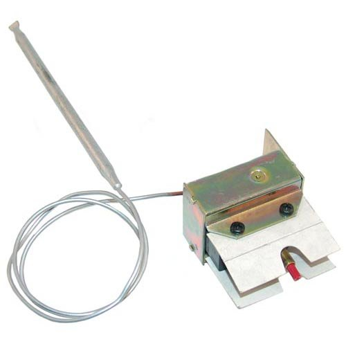 """All Points 48-1143 Hi-Limit Safety Thermostat; Type LB; Temperature 430 Degrees Fahrenheit; 24"""" Capillary"""