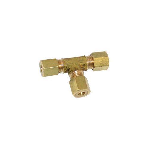 "All Points 26-1546 3/16"" CCT Brass Union Tee"