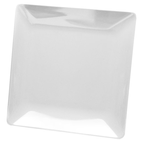 Elite Global Solutions D55SQ Squared White 5  Square Melamine Plate - 6/Case  sc 1 st  WebstaurantStore & Elite Global Solutions D55SQ Squared White 5