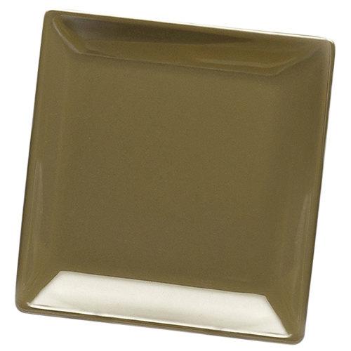 "Elite Global Solutions D99SQ Squared Lizard 9"" Square Melamine Plate - 6/Case"