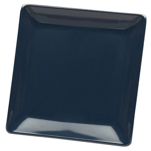 "Elite Global Solutions D1313SQ Squared Lapis 13"" Square Melamine Platter - 6/Case"