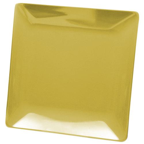 "Elite Global Solutions D1313SQ Squared Olive Oil 13"" Square Melamine Platter - 6/Case"
