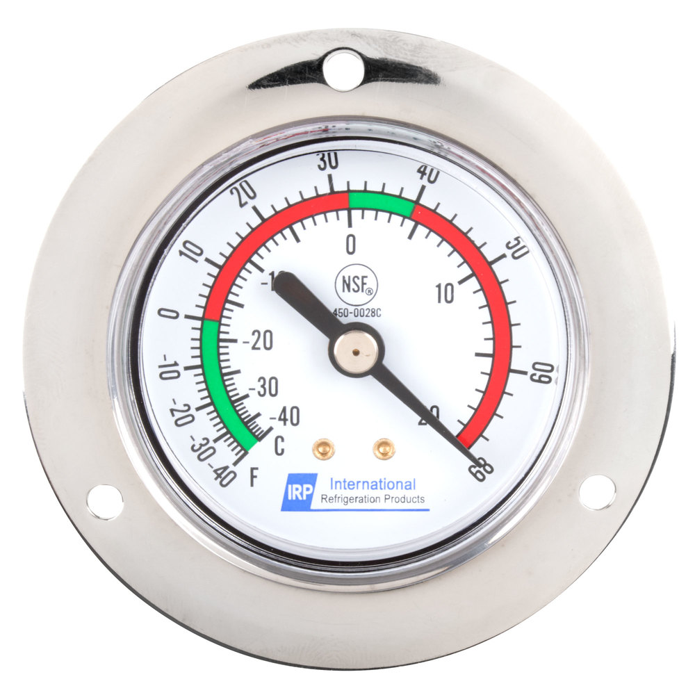 """Replacement 2"""" Remote Vapor Tension Thermometer; -40 to ..."""