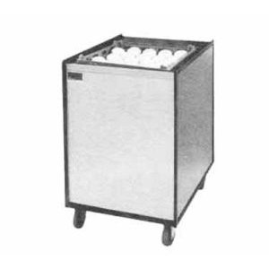 """APW Wyott Lowerator MCTR-1622 Mobile Enclosed Cantilever Tray Dispenser for 16"""" x 22"""" Trays"""