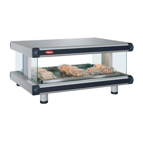 "Hatco GR2SDH-60 Glo-Ray Designer 60"" Horizontal Single Shelf Merchandiser - 120V"