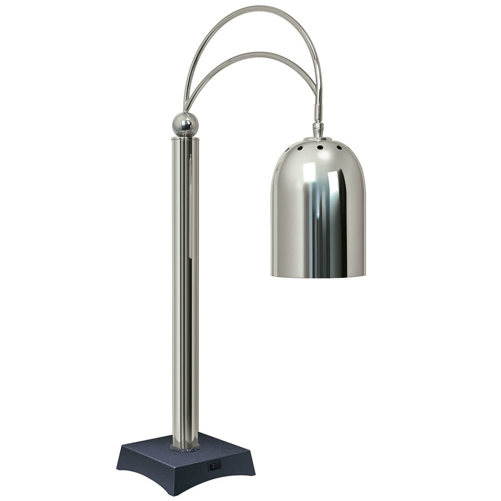 Hatco Dcs400 1 Decorative Carving Station Lamp With Night Sky Colored Base And Bright Nickel