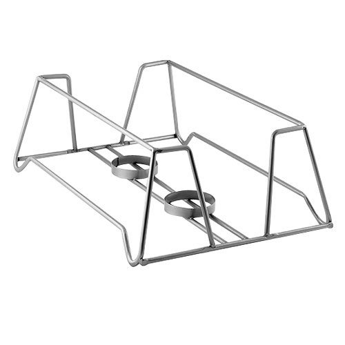 American Metalcraft SCFGM2 Full Size Stackable Gunmetal Chafer Stand