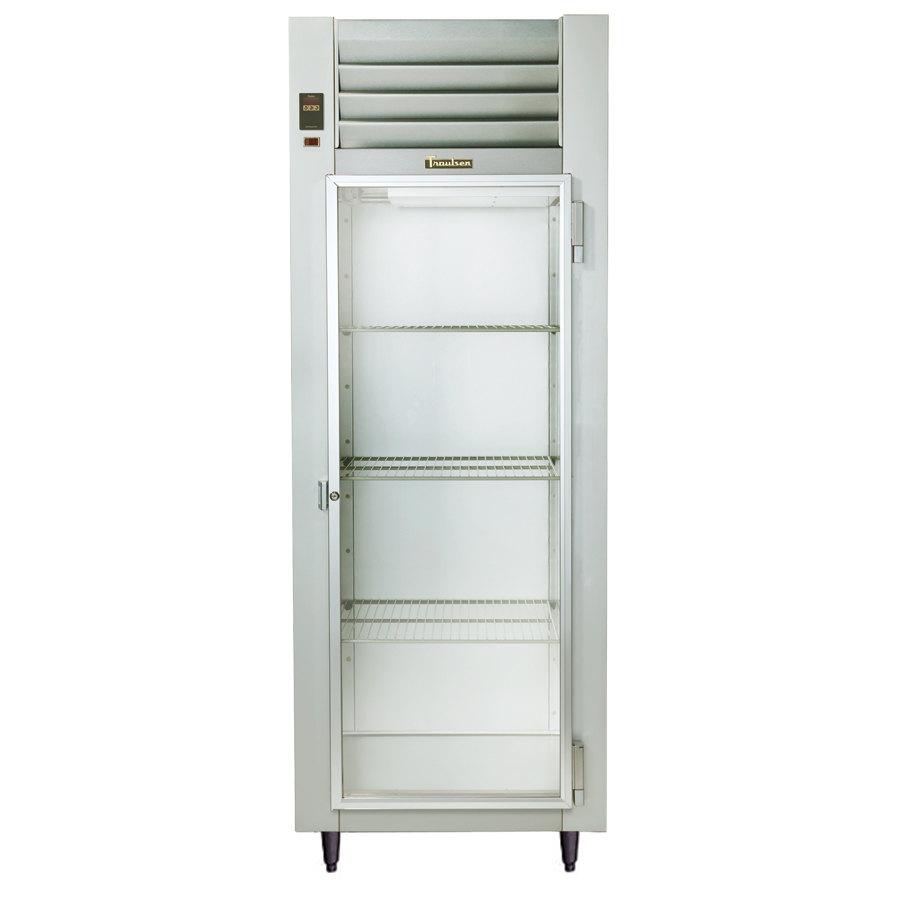... Glass Door Shallow Depth Reach In Refrigerator - Specification Line