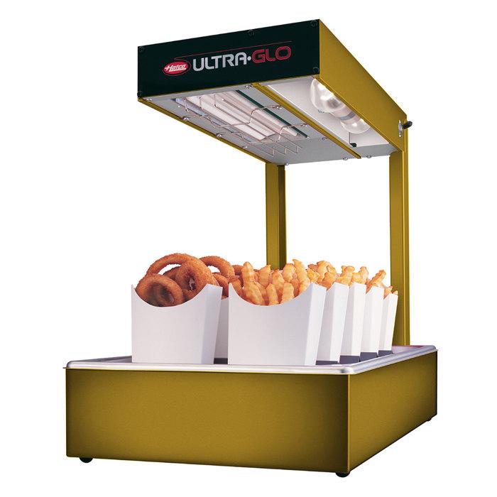 Hatco UGFFL Ultra-Glo Gleaming Gold Portable Food Warmer with Lights - 120V, 870W