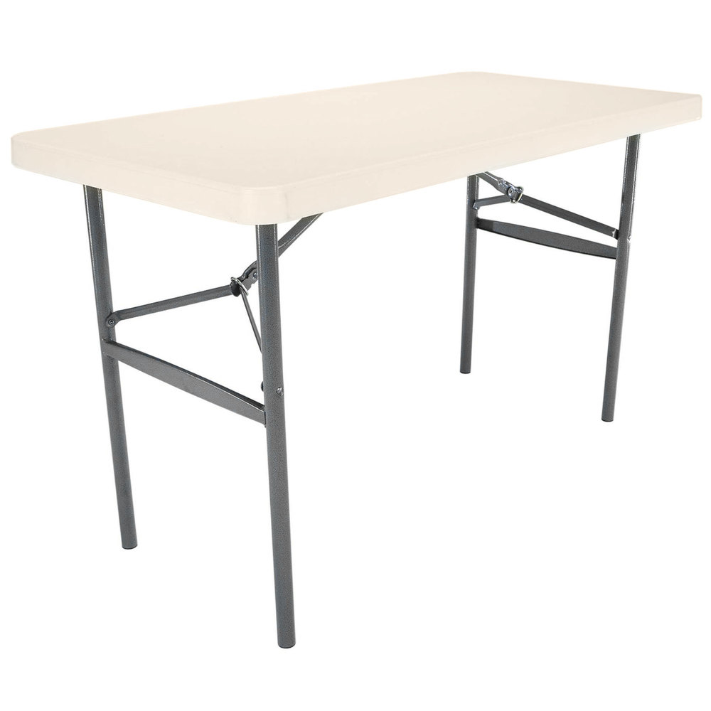 Plastic Folding Table : Lifetime 22959 24