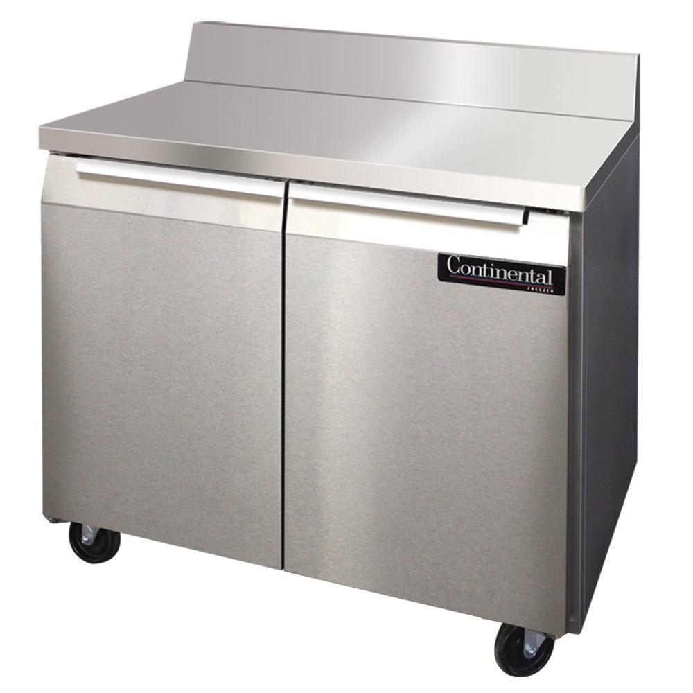 Continental Refrigerator Swf36 Bs 36 Quot Two Door Worktop