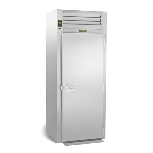 """Traulsen RIH132L-FHS Stainless Steel 36 Cu. Ft. Single Section Roll-In Heated Holding Cabinet for 66"""" Pan Racks - Specification Line"""