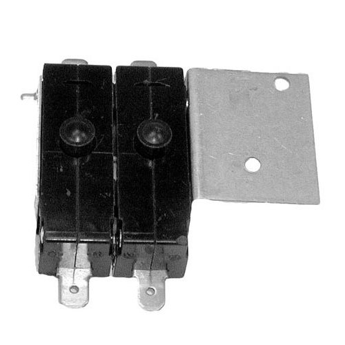 Switch and Bracket Assembly; 2 Switches; 1 1/2hp, 125V; 2 hp, 250V Main Image 1