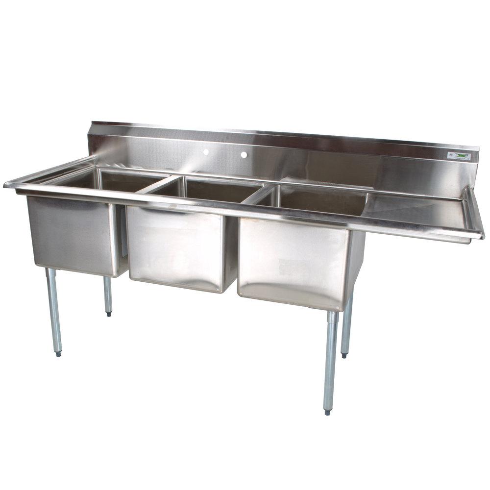 Drainboard sink home depot kitchen sink 1 bowl 100 - Undermount 3 compartment kitchen sinks ...