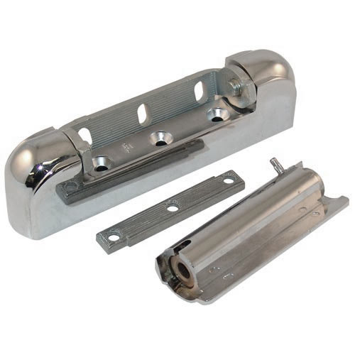 """Kason 10218000012 5 3/4"""" x 1 1/8"""" Spring-Assisted Edge Mount Door Hinge with 1 3/8"""" Offset"""