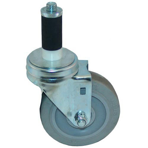 """All Points 26-3373 4"""" Swivel Stem Caster for 1"""" O.D. Tubing - 240 lb. Capacity Main Image 1"""